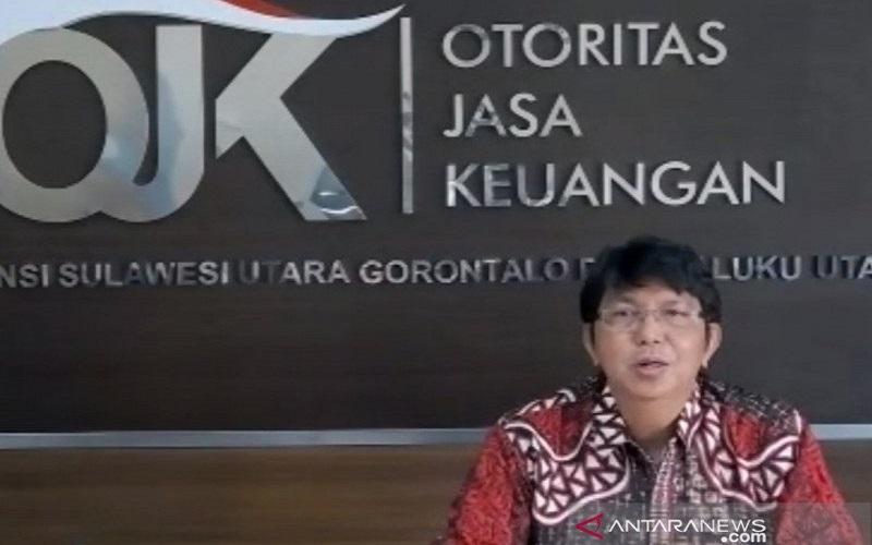 Kepala OJK Sulutgomalut Darwisman - Antara