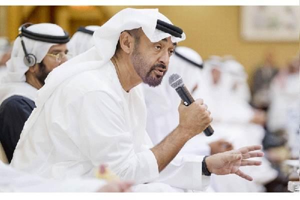 Pangeran Mohamed bin Zayed Al Nahyan, Putra Mahkota Uni Emirat Arab. - emirates247.com/WAM