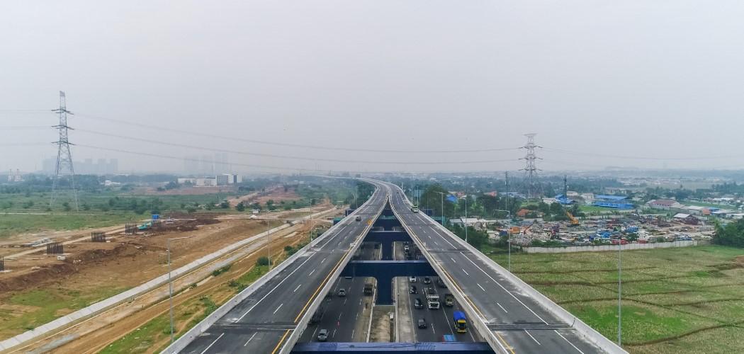Jalan tol layang Jakarta-Cikampek dengan kontraktor Acset (ACST). - Dok. ACST