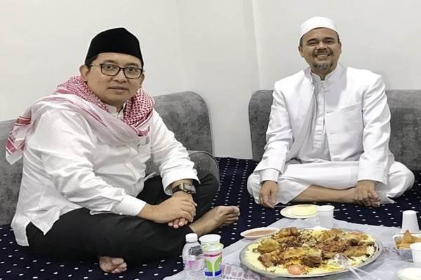 Fadli Zon bertemu Rizieq Syihab di Mekkah. - Instagram Fadli Zon