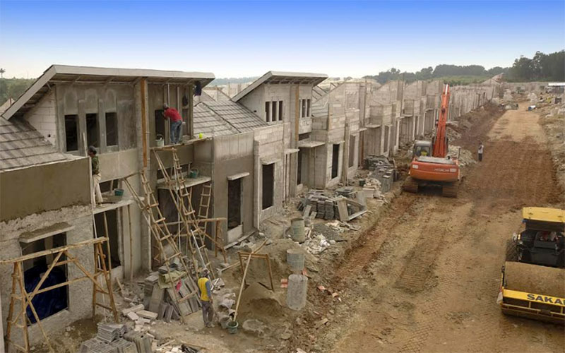 Ilustrasi pembangunan perumahan - Istimewa