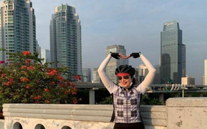 Alexandra Askandar, diputuskan menjadi Wakil Direktur PT Bank Mandiri (Persero) Tbk. dalam RUPLSB, Rabu (21/10/2020)  - Sumber: Instagram