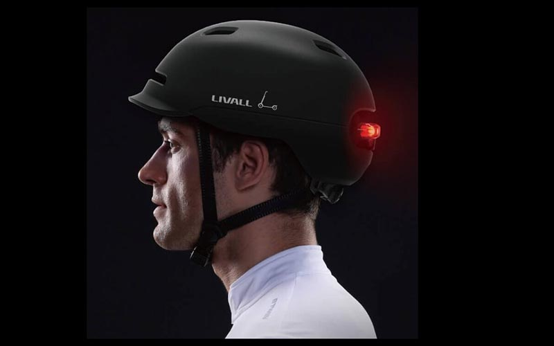 Helm sepeda Livall C20.  - Livall