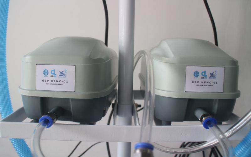 LIP menciptakan alat terapi oksigen beraliran tinggi. - istimewa
