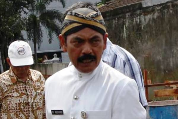 Wali Kota Solo F.X. Hadi Rudyatmo. - Jibiphoto