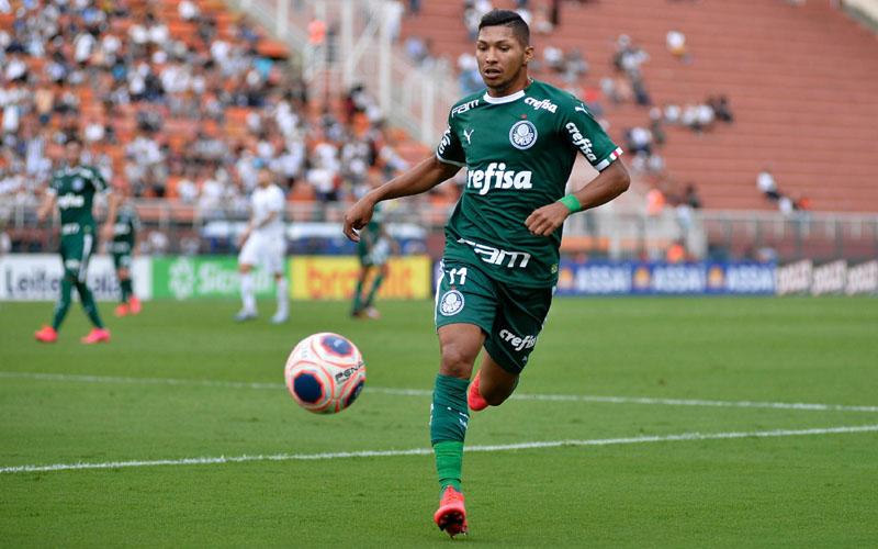 Penyerang Palmeiras Rony da Silva. - uolcom.br