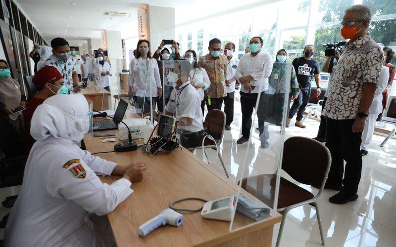 Persiapan vaksinasi Covid-19 di Jawa Tengah. - Ist