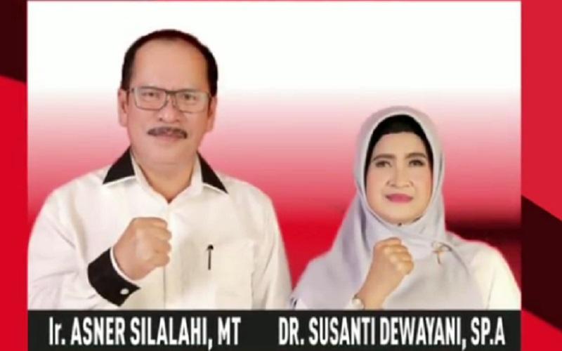 Asner Silalahi merupakan wali kota Pematangsiantar terpilih hasil Pilkada Serentak 2020. Dia maju bersama Susanti Dewayani