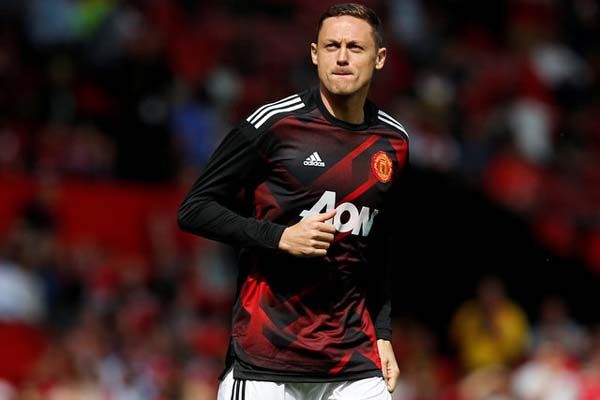 Gelandang Manchester United Nemanja Matic - Reuters/Andrew Yates