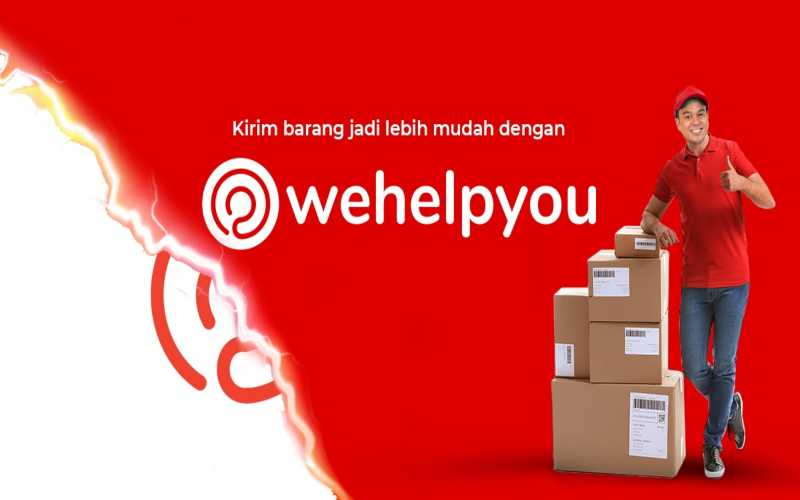 Help Delivery Berubah Menjadi Wehelpyou. - Istimewa