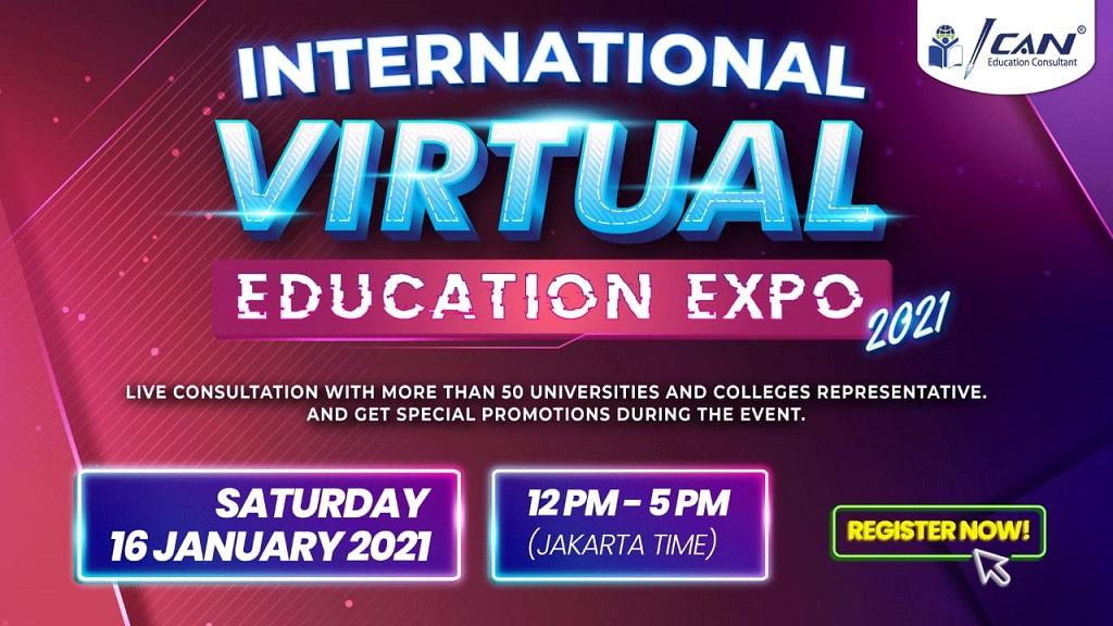 Gambar: International Virtual Education Expo 2021