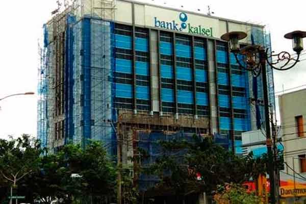 Gedung Bank Kalsel.  - Bisnis.com