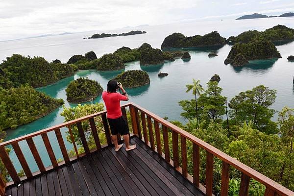 Ilustrasi: Kawasan wisata Piaynemo di Raja Ampat, Papua Barat, Kamis (4/6/2015). - Antara/Akbar Nugroho Gumay