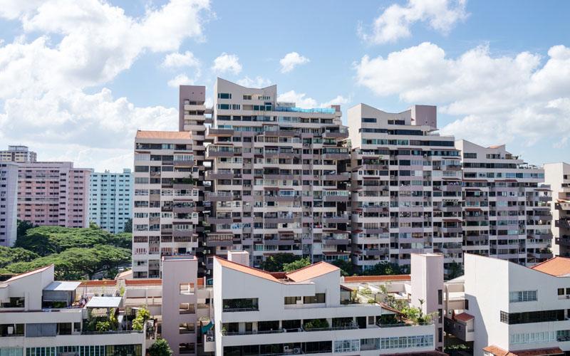 Residensial di Singapura. - Bloomberg