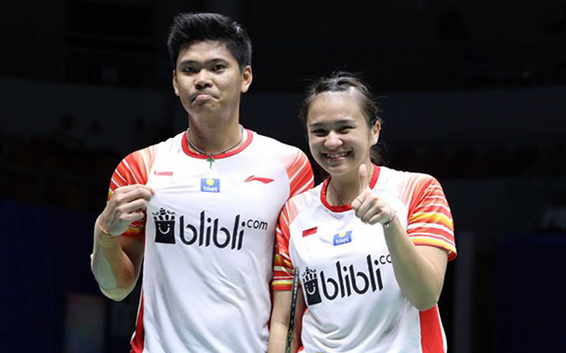 Pasangan ganda campuran Praveen Jordan dan Melati Daeva Oktavianti akan bermain di finall Yonex Thailand Open 2021 - BadmintonIndonesia.org