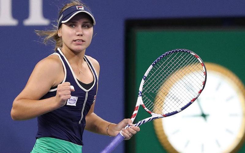 Petenis Amerika Serikat Sofia Kenin, juara single putri Australia terbuka tahun lalu. - USOpen.org