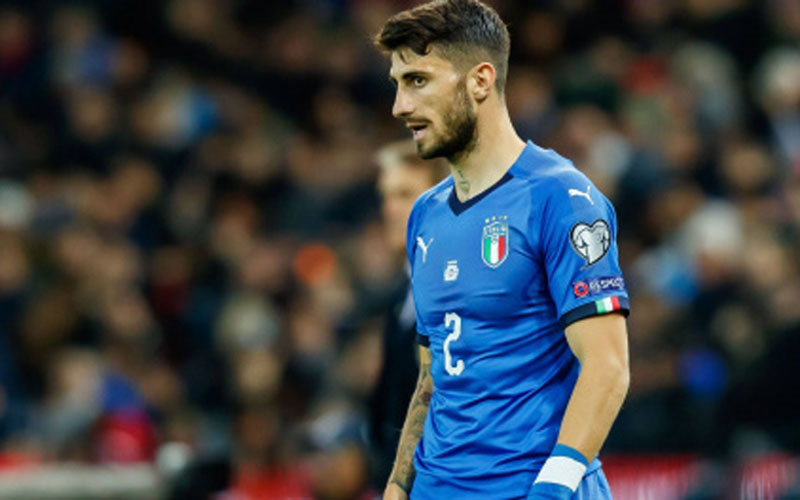 Cristiano Piccini dalam jersey Timnas Italia. -  Transfermarkt
