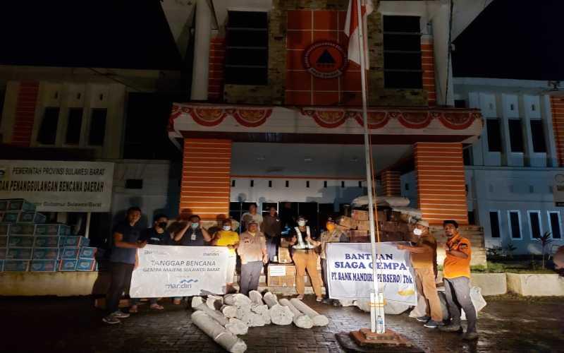 BMRI Peduli Bencana Alam, Bank Mandiri (BMRI) Salurkan Bantuan Darurat - Finansial Bisnis.com