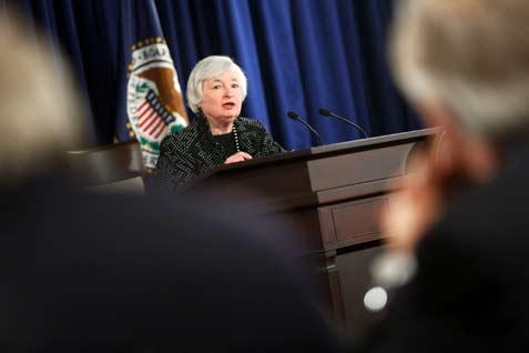 Calon Menteri Keuangan AS Janet Yellen  - Reuters