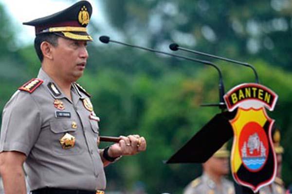 Kapolda Banten Kombes Pol Listyo Sigit Prabowo - Antara/Asep Fathulrahman
