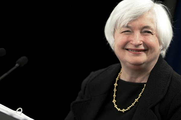 Calon Menteri Keuangan AS Janet Yellen  - Reuters/Jonathan Ernst