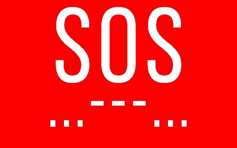 Ilustrasi SOS