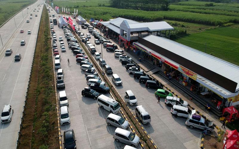 Rest area jalan tol Trans Jawa./Antara - Oky Lukmansyah