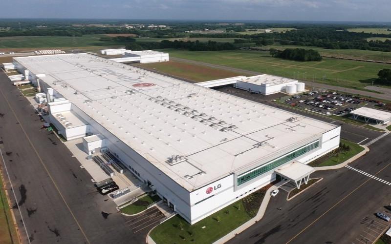 Pabrik LG Electronics. Ilustrasi.  - LG Electronics