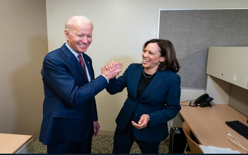 Presiden AS terpilih Joe Biden dan Wakil Presiden AS terpilih Kamala Harris. JIBI - Bisnis/Nancy Junita @joebiden