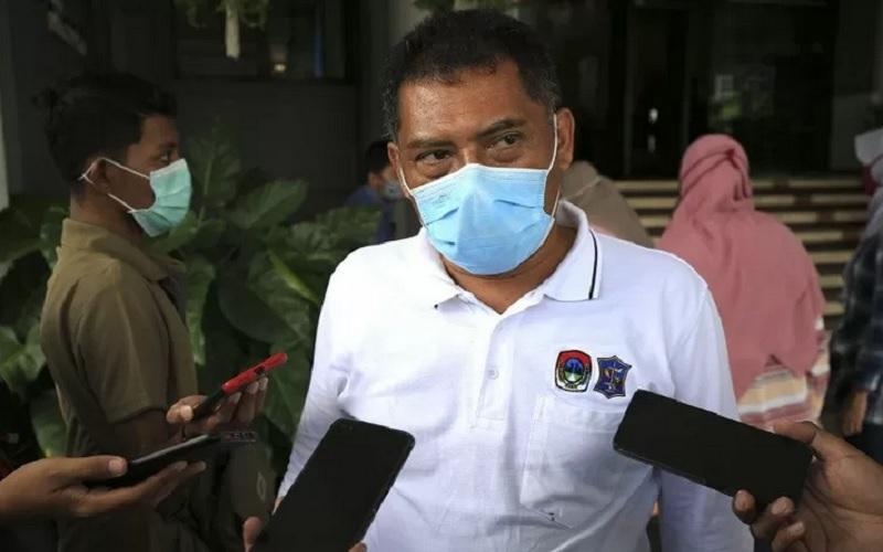 Kepala Satuan Polisi Pamong Praja (Satpol PP) Kota Surabaya Eddy Chrisijanto. - Antara\r\n