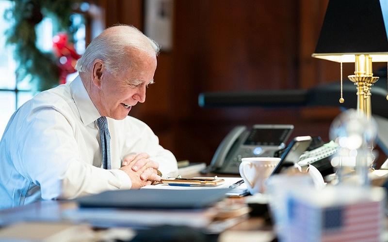 Presiden AS Joe Biden. JIBI - Bisnis/Nancy Junita @joebiden