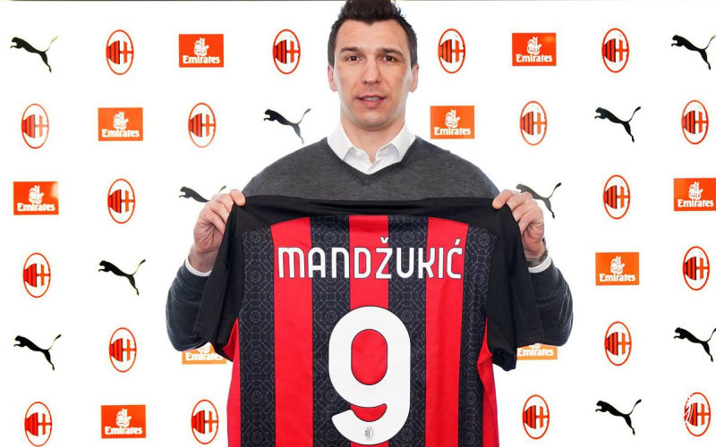 Striker AC Milan, Mario Mandzukic - The AC Milan Offside