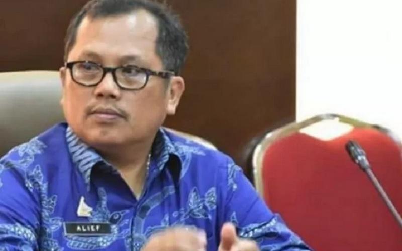 Kepala Dinas Kesehatan Sulawesi Barat Dr. Muhammad Alief Satria, di Mamuju, (12/1/2021). - Antara