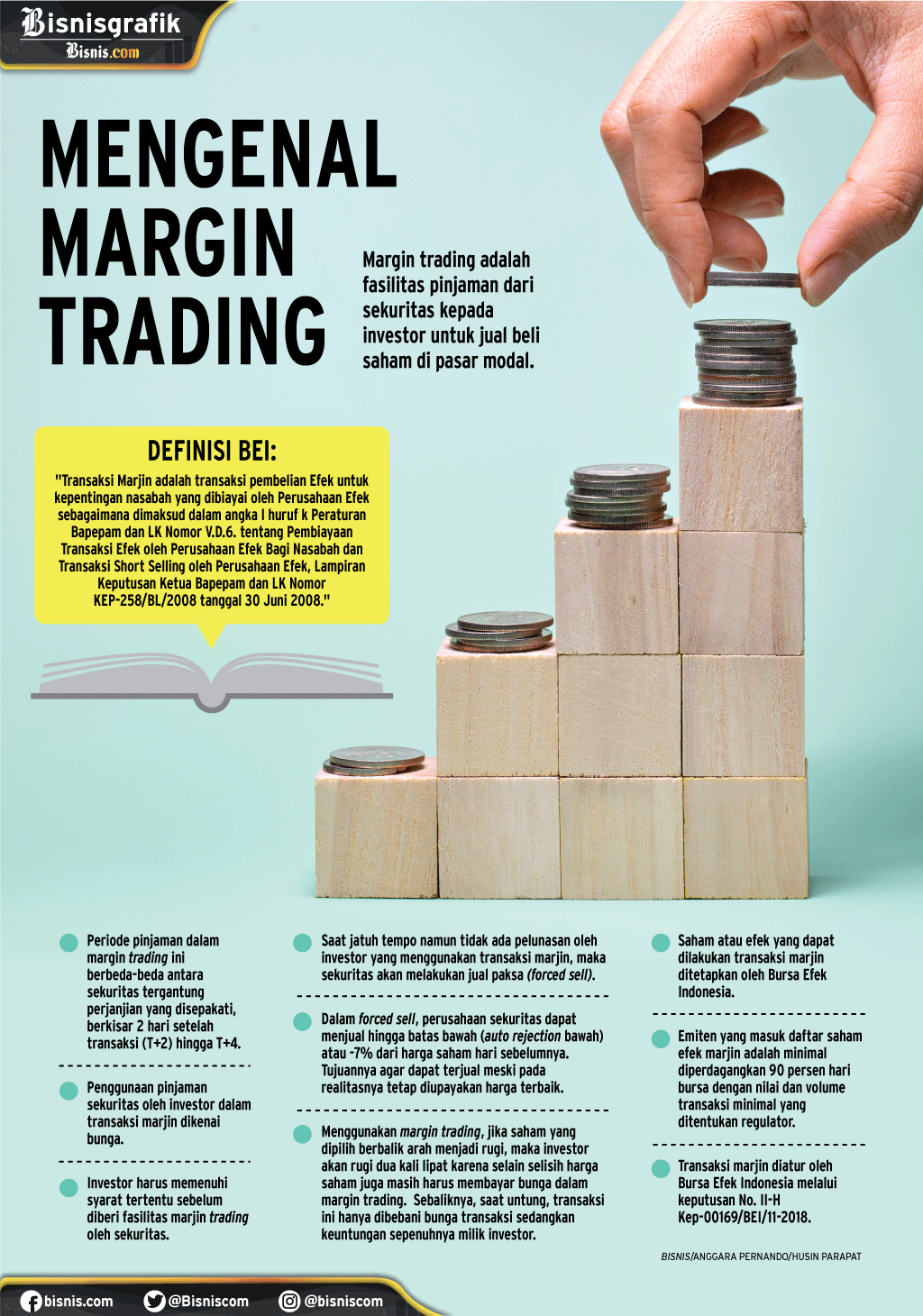 Margin trading./Bisnis-Husin Parapat - Anggara
