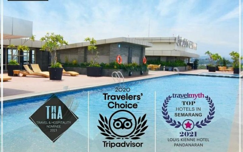 Louis Kienne Hotel Pandanaran masuk dalam nominasi Travel & Hospitality Awards 2021, serta mendapatkan penghargaan Travelers' Choice dari TripAdvisor.