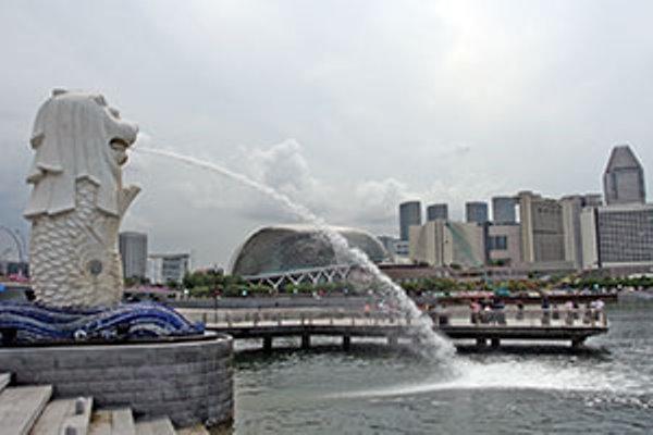 Patung Merlion, Singapura
