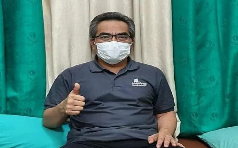 Wakil Bupati Bantul Abdul Halim Muslih menjalani perawatan di RSUD Panembahan Senopati, karena positif Covid-19. - Antara