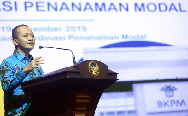 Kepala Badan Koordinasi Penanaman Modal (BKPM) Bahlil Lahadalia. Bisnis - Abdullah Azzam