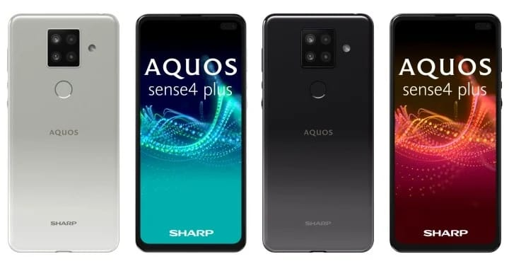 AQUOS Sense4 Plus semakin memperpanas persaingan smartphone selama pandemi virus corona (Covid-19). - istimewa