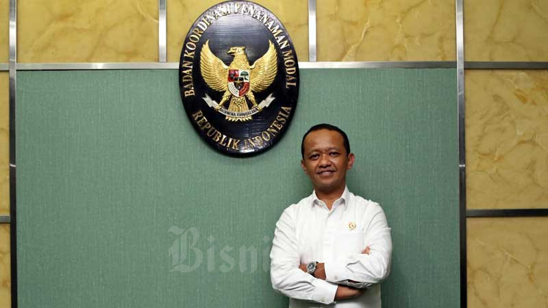 Kepala Badan Koordinasi Penanaman Modal (BKPM) Bahlil Lahadalia. Bisnis - Eusebio Chrysnamurti