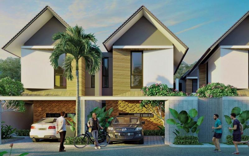 Gambar klaster Resvara di Ciputra Beach Resort, Tabanan, Bali. - Istimea