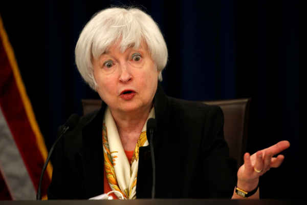 Menteri Keuangan AS Janet Yellen. REUTERS - Kevin Lamarque