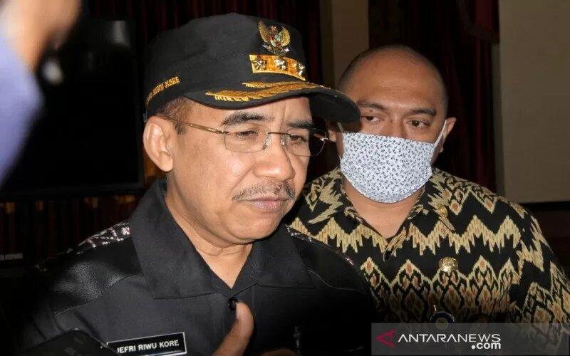 Wali Kota Kupang Jefri Riwu Kore. - Antara/Benediktus Jahang