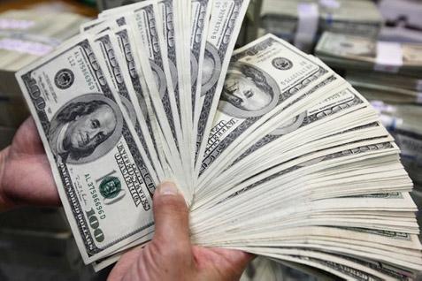 Ilustrasi dolar Amerika Serikat.