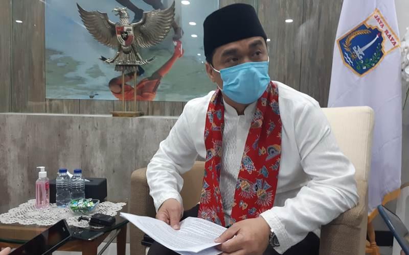Wagub DKI Ahmad Riza Patria - Bisnis/Nyoman Ary Wahyudi
