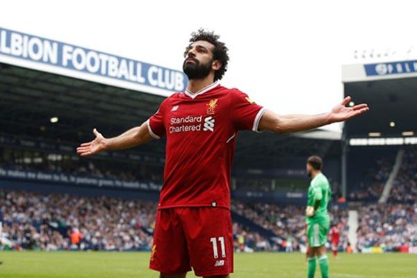 Striker Liverpool FC Mohamed Salah - Reuters