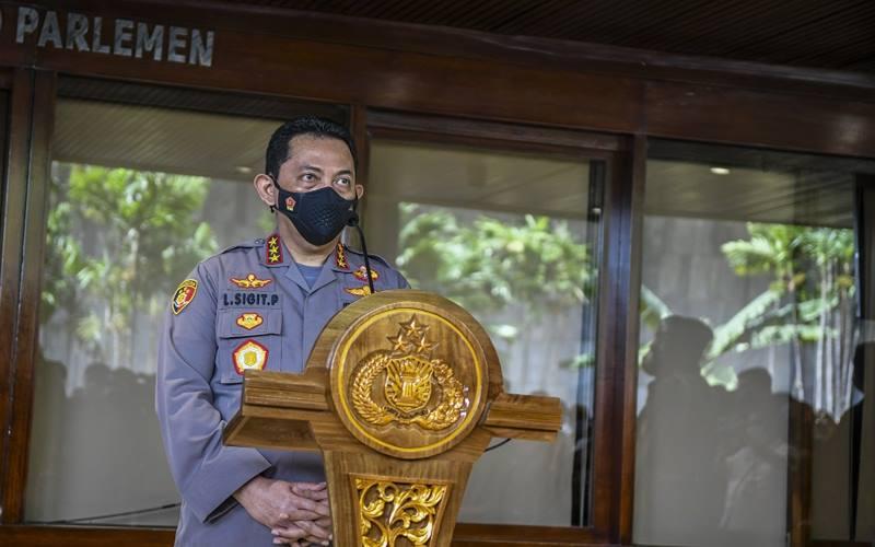 Komisaris Jenderal Listyo Sigit Prabowo. - Antara