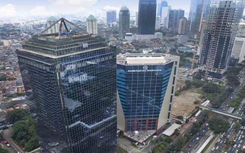 Gedung Bank Rakyat Indonesia. / Ilustrasi
