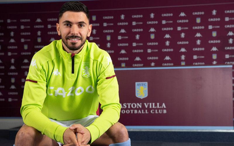 Morgan Sanson bergabung dengan Aston Villa. - avfc.co.uk