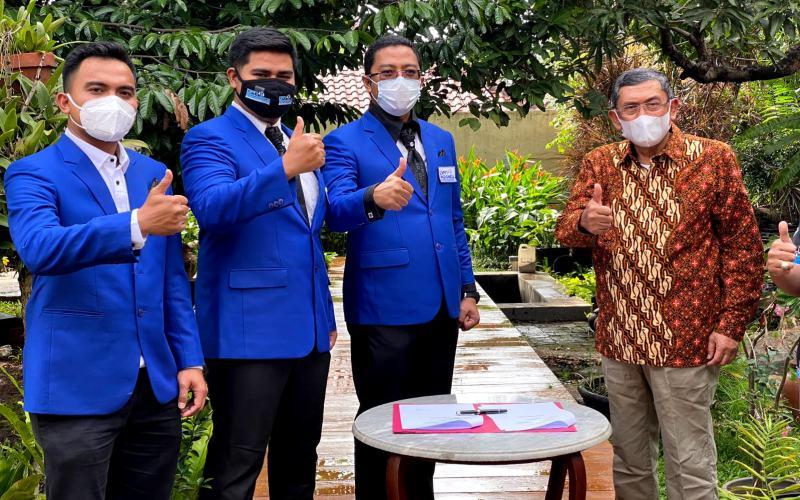 Presiden DPN Indonesia Faizal Hafied (kedua kanan). - Isitimewa